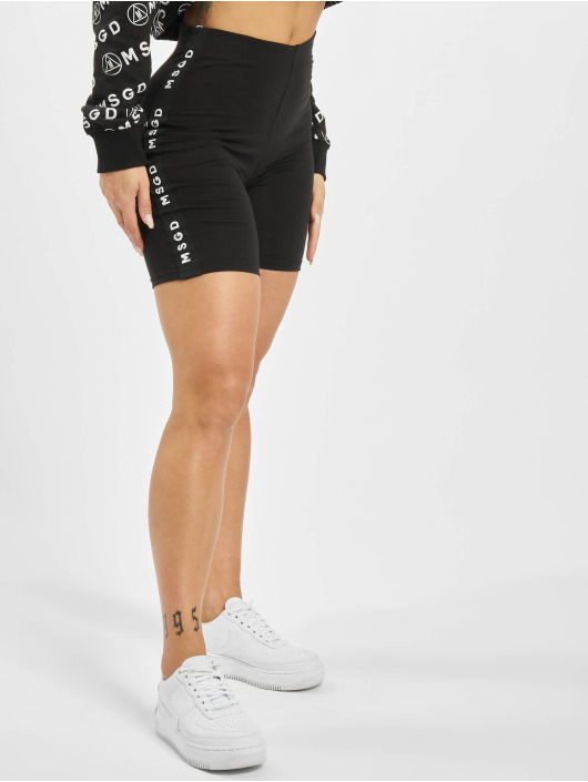 Missguided Szorty Missguided Panel Cycling czarny