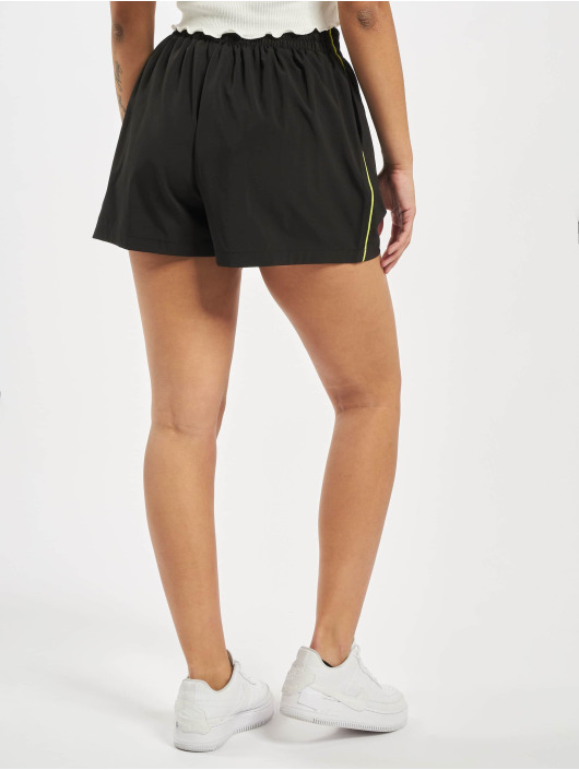Missguided Szorty Piping Co-Ord Active czarny
