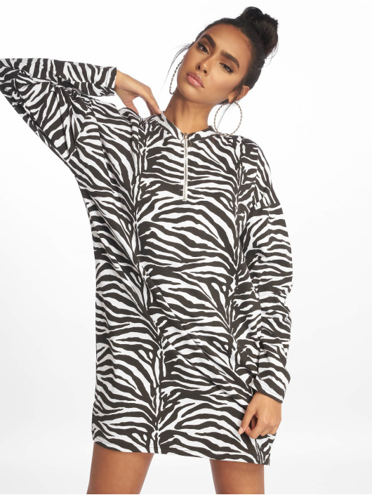 Missguided T-Shirt Oversized LL Zip Front black