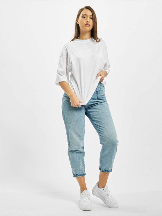 Missguided T-Shirt Co Ord Play Back Print Oversized DS blanc