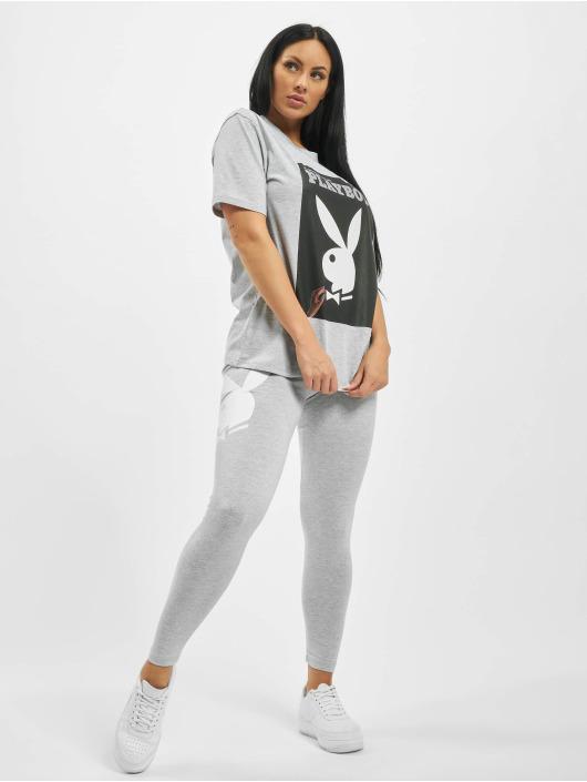 Missguided T-Shirt Playboy Bunny Magazine OS grau