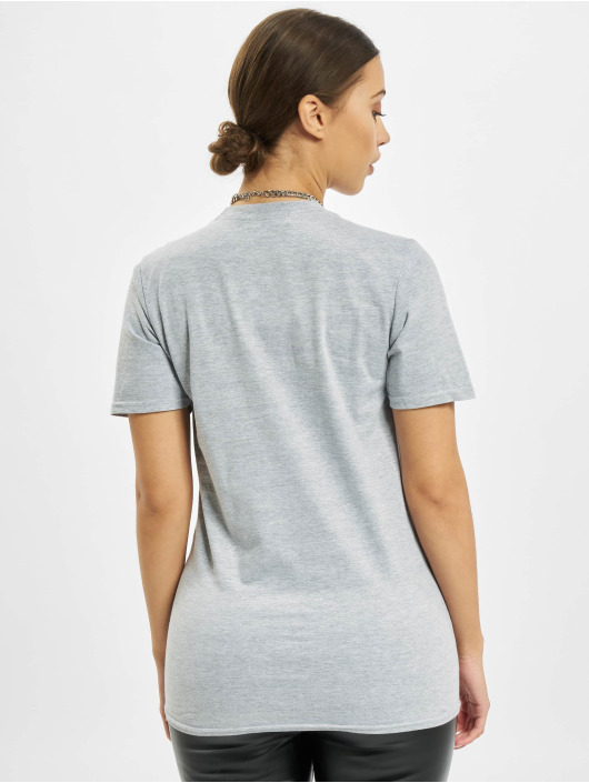 Missguided T-Shirt Chicago Basketball Graphic Short Sleeve grey
