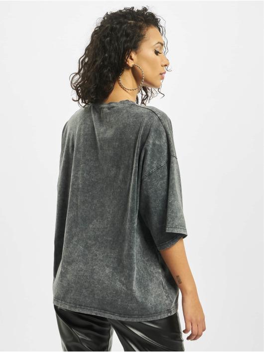 Missguided T-Shirt Petite Drop Shoulder Oversized gris