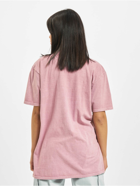 Missguided T-shirt Overdyed Wings Photographic rosa chiaro