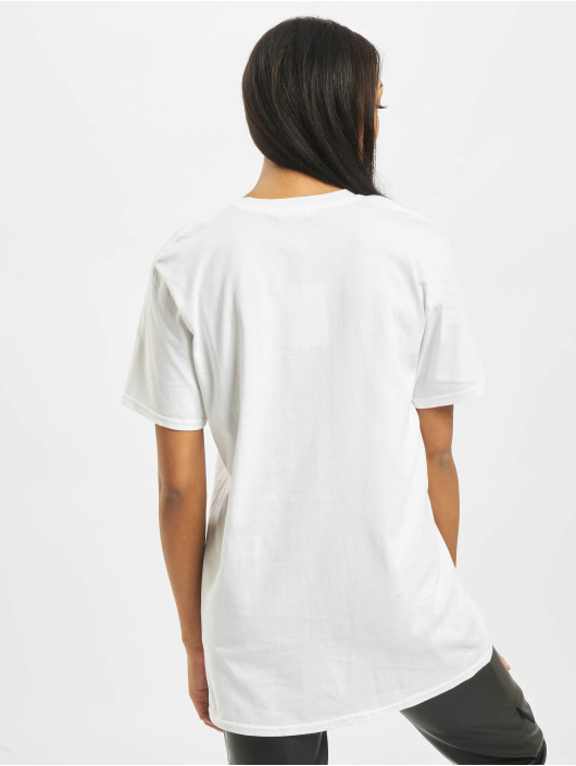 Missguided T-Shirt Lamour Face Oversized Graphic weiß