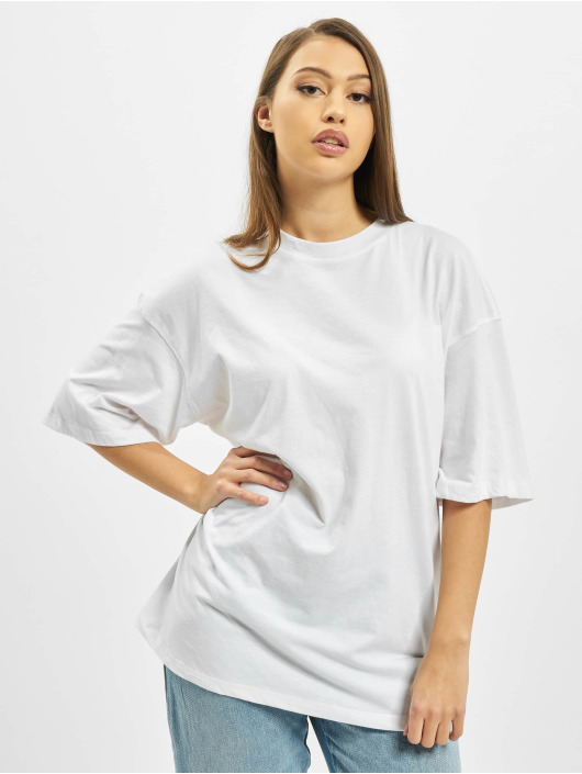 Missguided T-Shirt Co Ord Play Back Print Oversized DS weiß