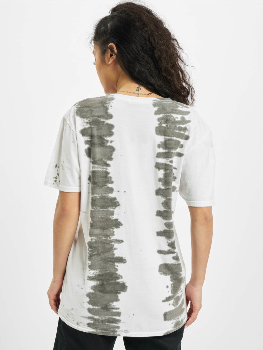 Missguided T-Shirt Tie Dye Butterfly Oversized Graphic weiß
