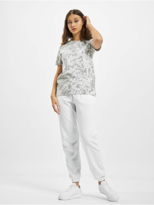Missguided T-shirts Tie Dye Socialite Earth Graphic Short Sleeve grå
