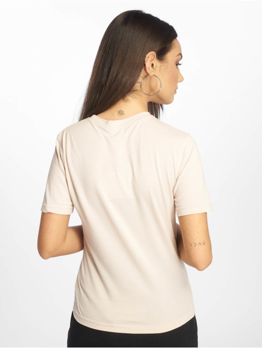 Missguided T-Shirty New York City bezowy