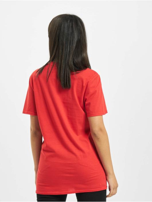 Missguided T-Shirty Dakota Graphic Short Sleeve czerwony