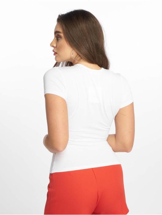 Missguided T-skjorter Slogan Maybe Later hvit