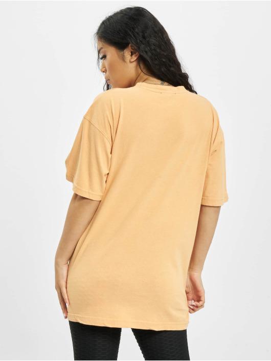 Missguided T-skjorter Washed Oversize oransje