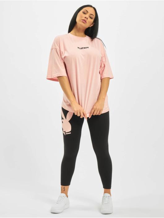 Missguided T-skjorter Playboy Girl Magazine OS rosa