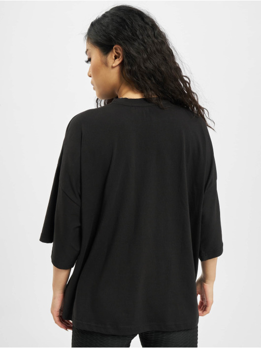 Missguided T-skjorter Petite Drop Shoulder svart
