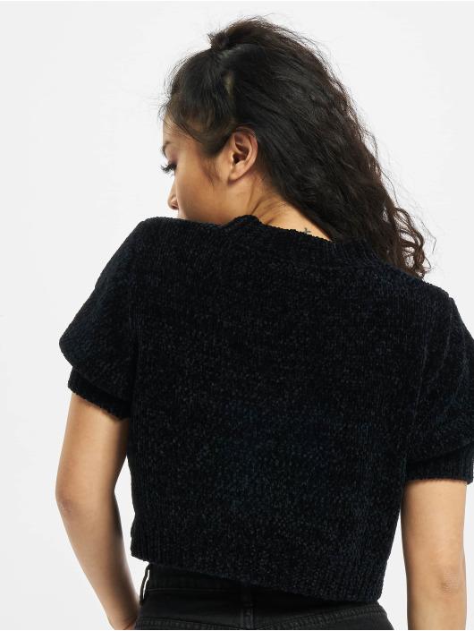 Missguided T-skjorter Petite Chenille svart
