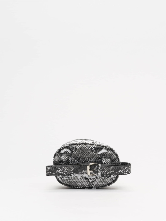 Missguided tas Black An White Snake zwart