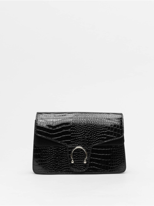 Missguided tas Croc Detail zwart