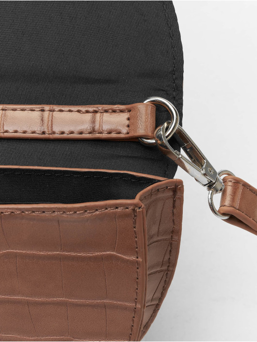 Missguided Tasche Mini Ring Detail braun