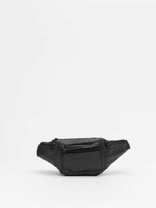 Missguided Tasche Leather Bum schwarz
