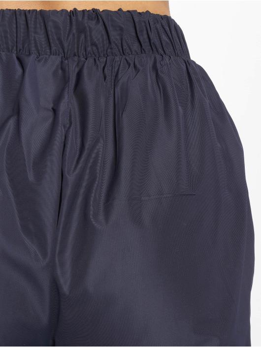 Missguided tepláky Zip Front Shell modrá