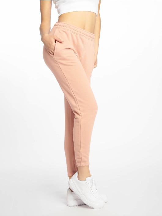 Missguided tepláky Petite Dusky Pink Basic ružová