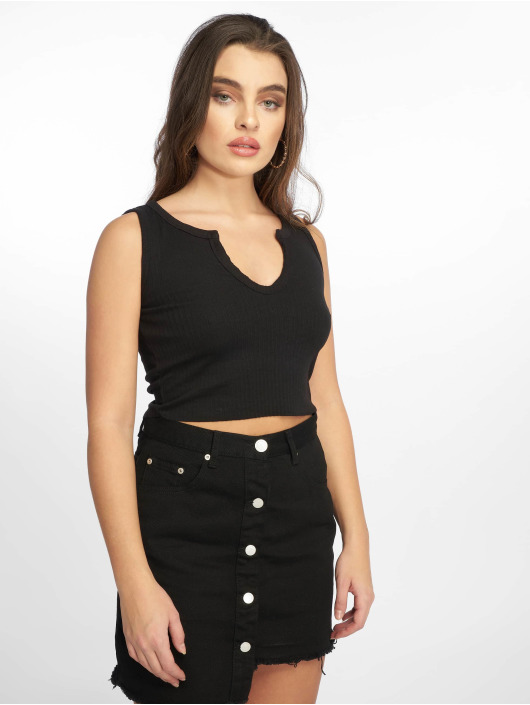 Missguided Top Notch black