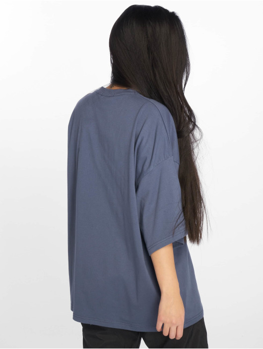 Missguided Top Drop Should Oversized grau