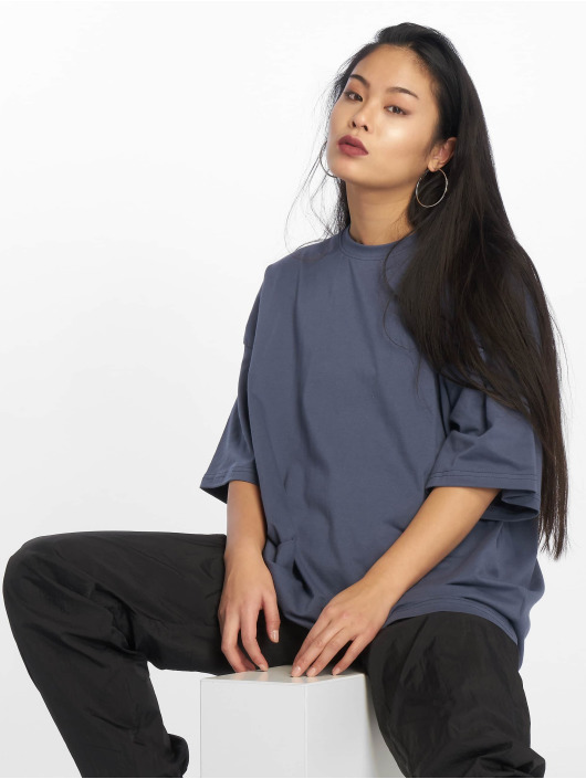 Missguided Top Drop Should Oversized grey