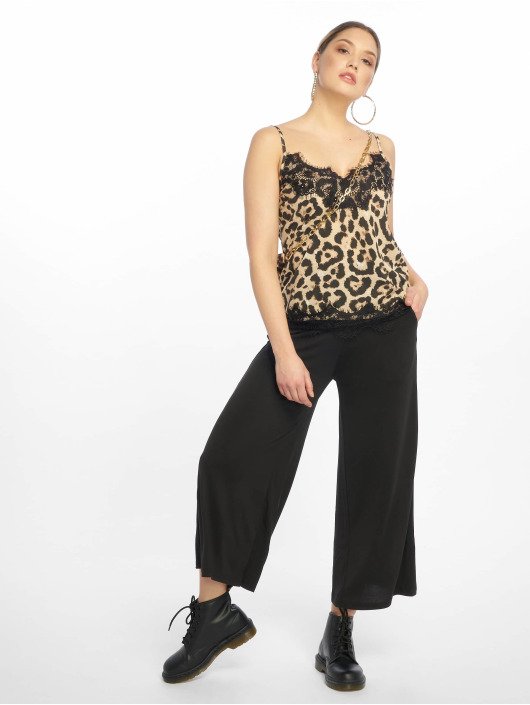 Missguided Tops sans manche Crepe And Lace Cami brun