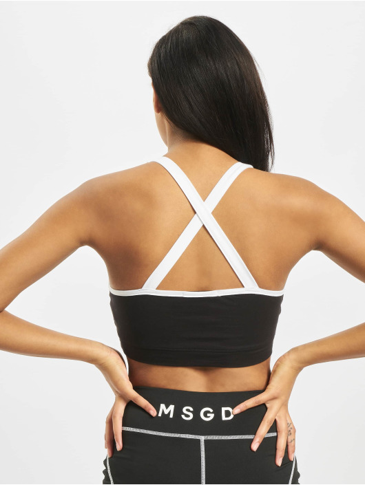 Missguided Tops Panelled Sport czarny