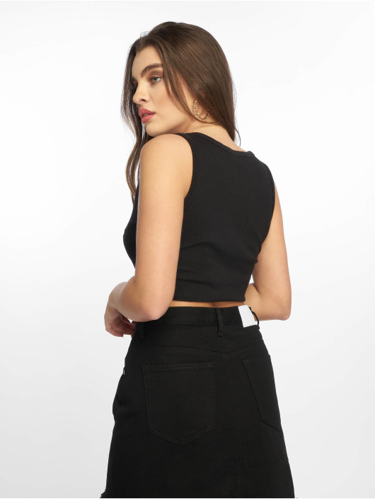 Missguided Tops Notch nero