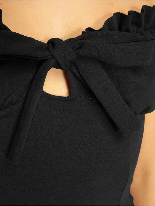 Missguided Topy/Tielka Milkmaid Tie èierna