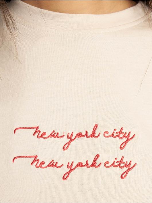 Missguided Topy/Tielka New York City béžová