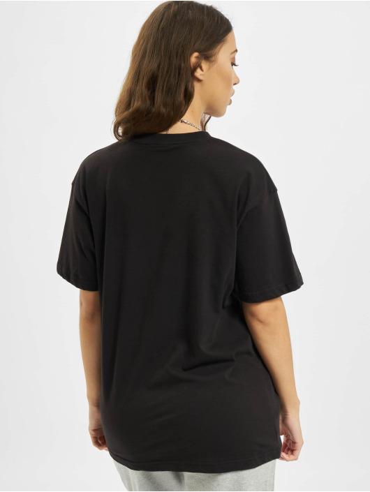 Missguided Tričká Drop Shoulder èierna