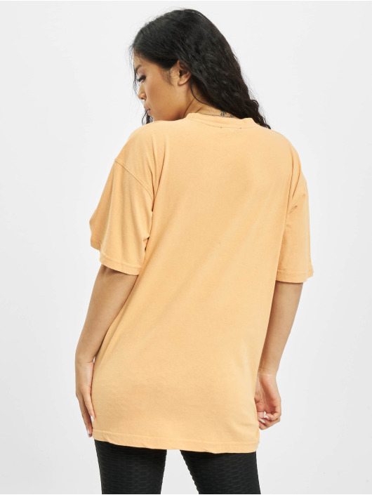 Missguided Trika Washed Oversize oranžový