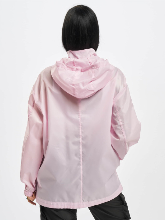 Missguided Übergangsjacke Bumbag Pac A Mac rosa