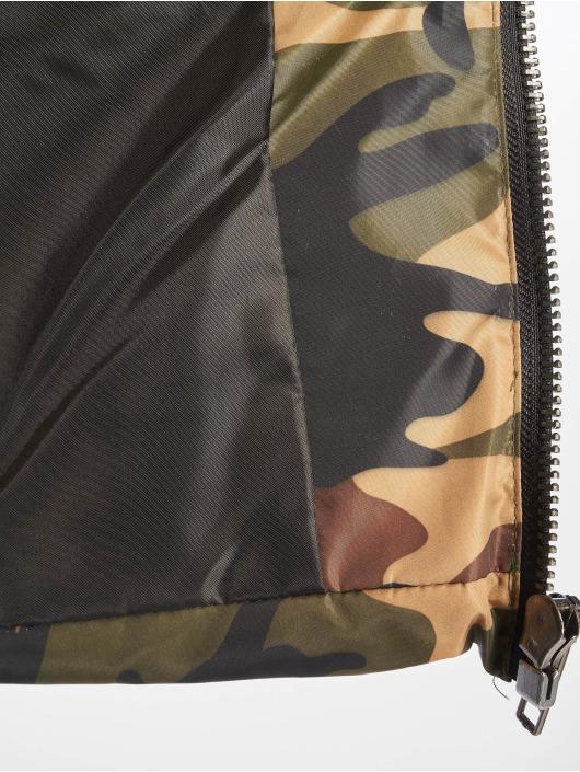 Missguided Vattert jakker Crop Camo kamuflasje