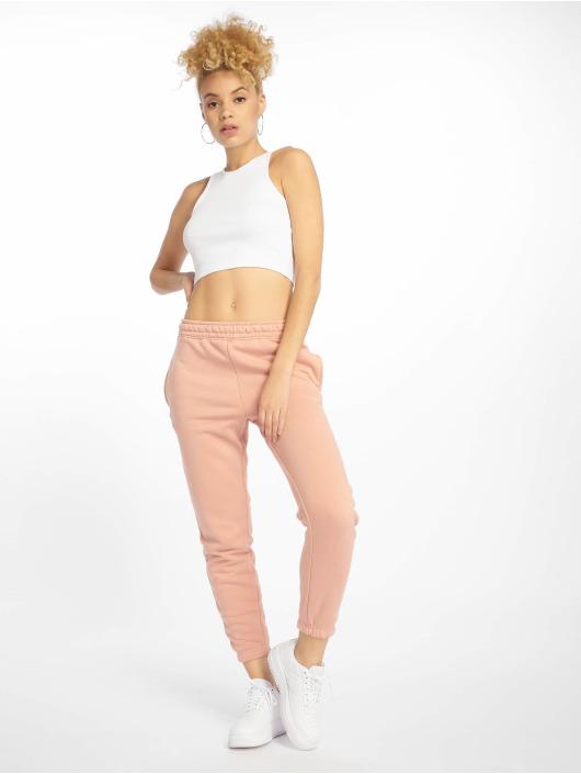 Missguided Verryttelyhousut Petite Dusky Pink Basic roosa