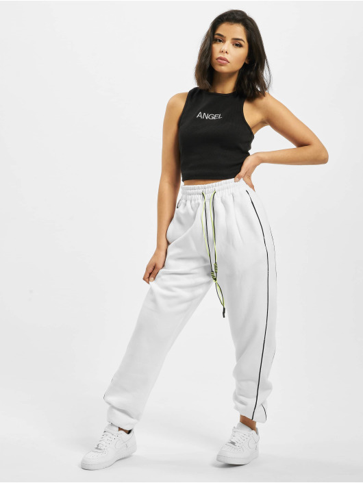 Missguided Verryttelyhousut Co Ord Contrast Seam Toggle valkoinen