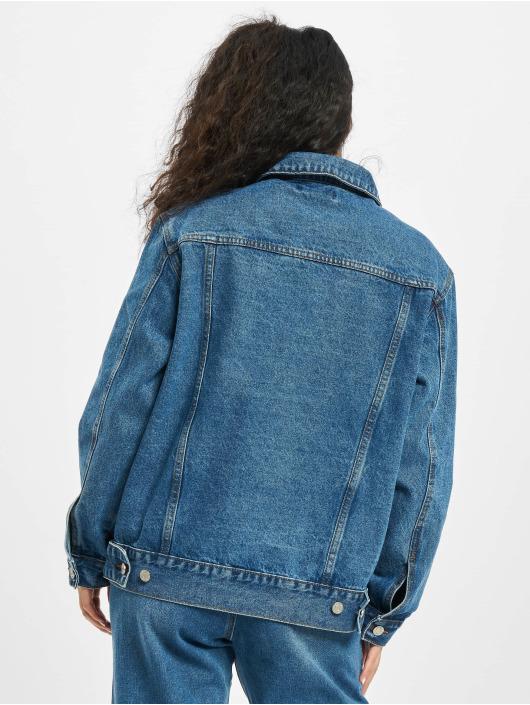 Missguided Veste Jean Oversized bleu