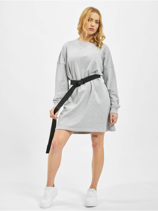 Missguided Vestido Basic gris