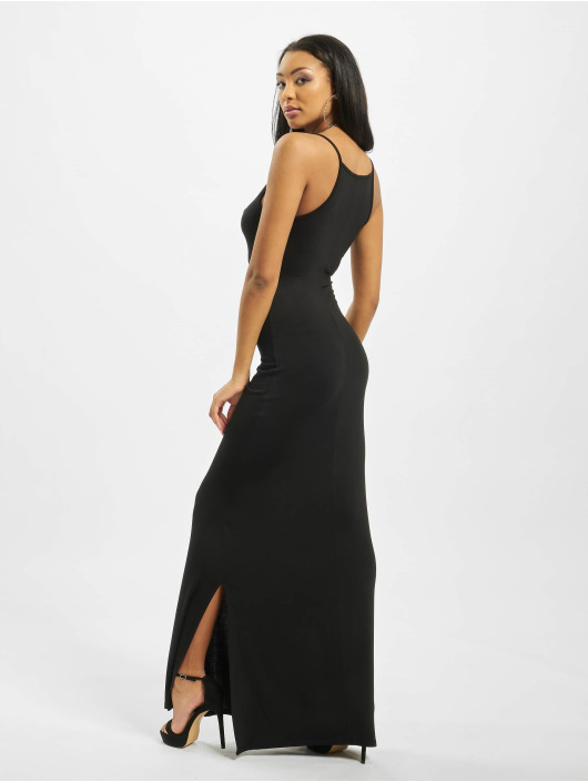 Missguided Vestido Tall Basic High Neck Maxi negro