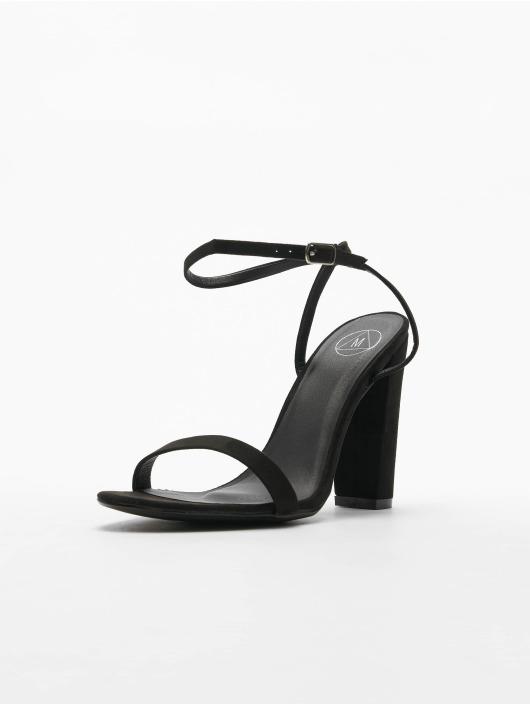 Missguided Zapatos de tacón Entry Block Heeled negro