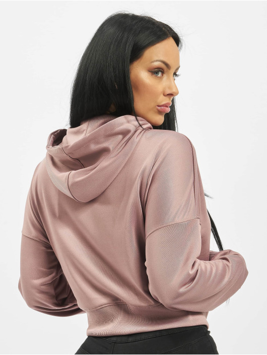 Missguided Zip Hoodie Front fialová