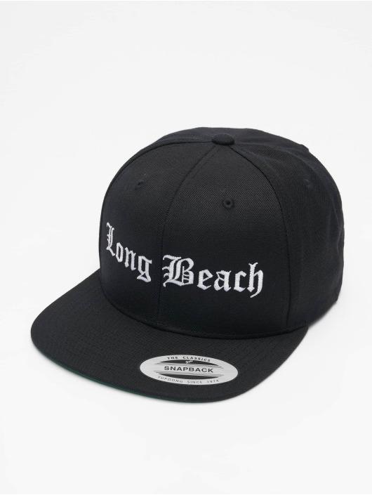 Mister Tee Кепка с застёжкой Long Beach черный