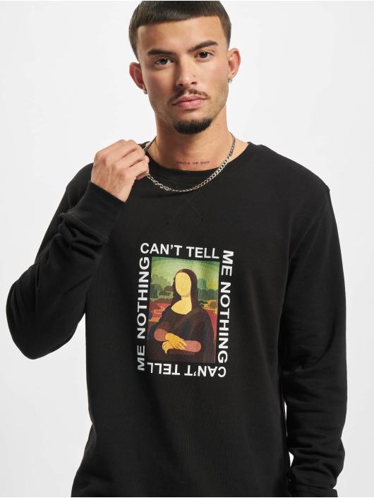 Mister Tee Пуловер Can't Tell Me Nothing черный
