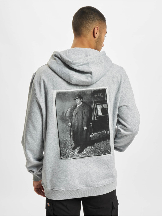 Mister Tee Толстовка Notorious BIG You Dont Know серый