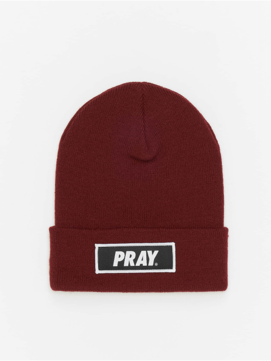 Mister Tee Beanie Pray brown