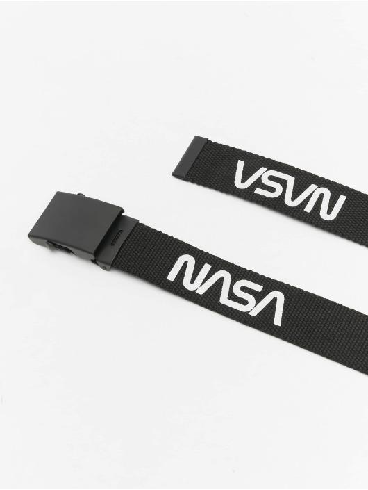Mister Tee Belts NASA Belt 2-Pack Extra Long svart