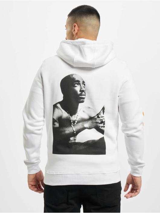 Mister Tee Bluzy z kapturem Tupac Eternal bialy